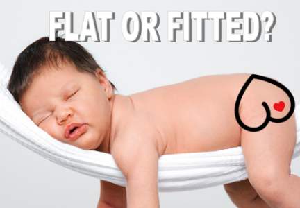 Flat or Fitted Cloth diaper. Which is best?